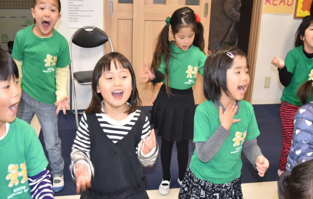 熊本ヒルトップインターナショナルスクール誕生会