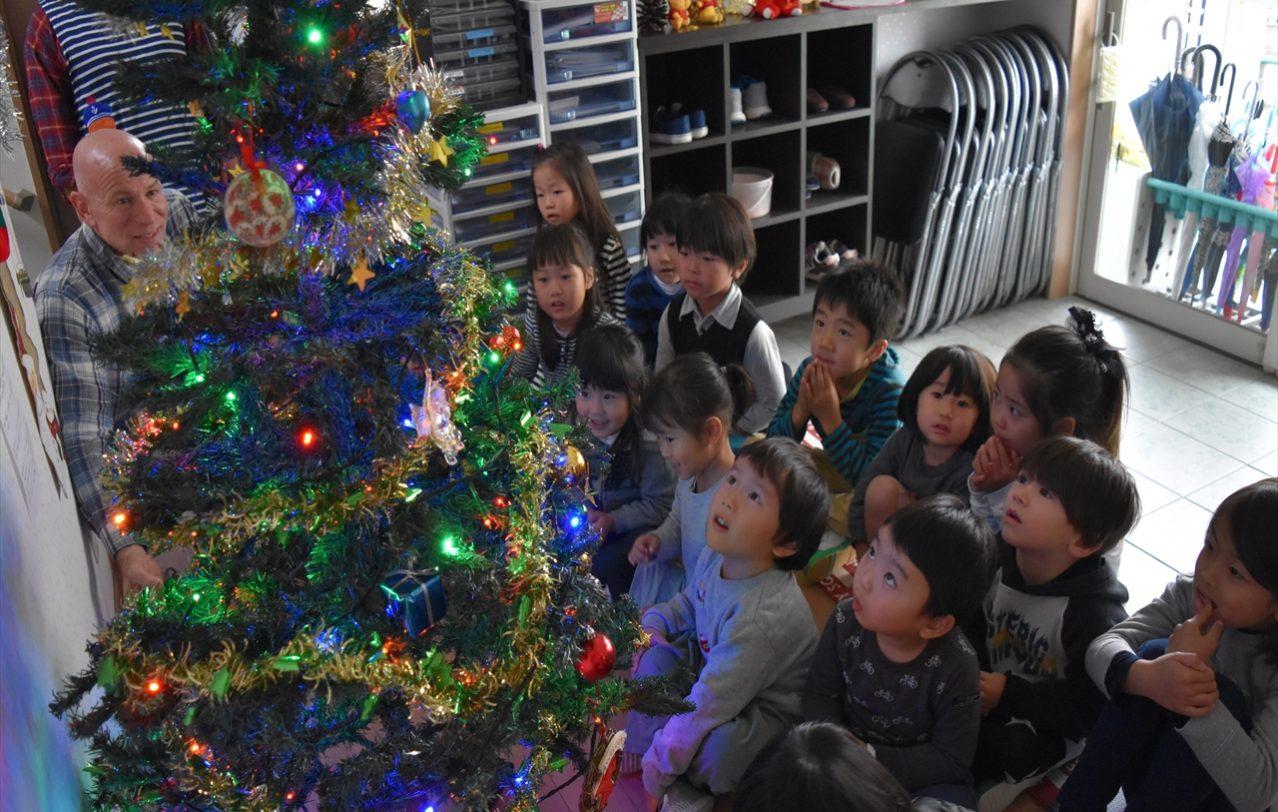 熊本ヒルトップインターナショナルスクールChristmas Tree