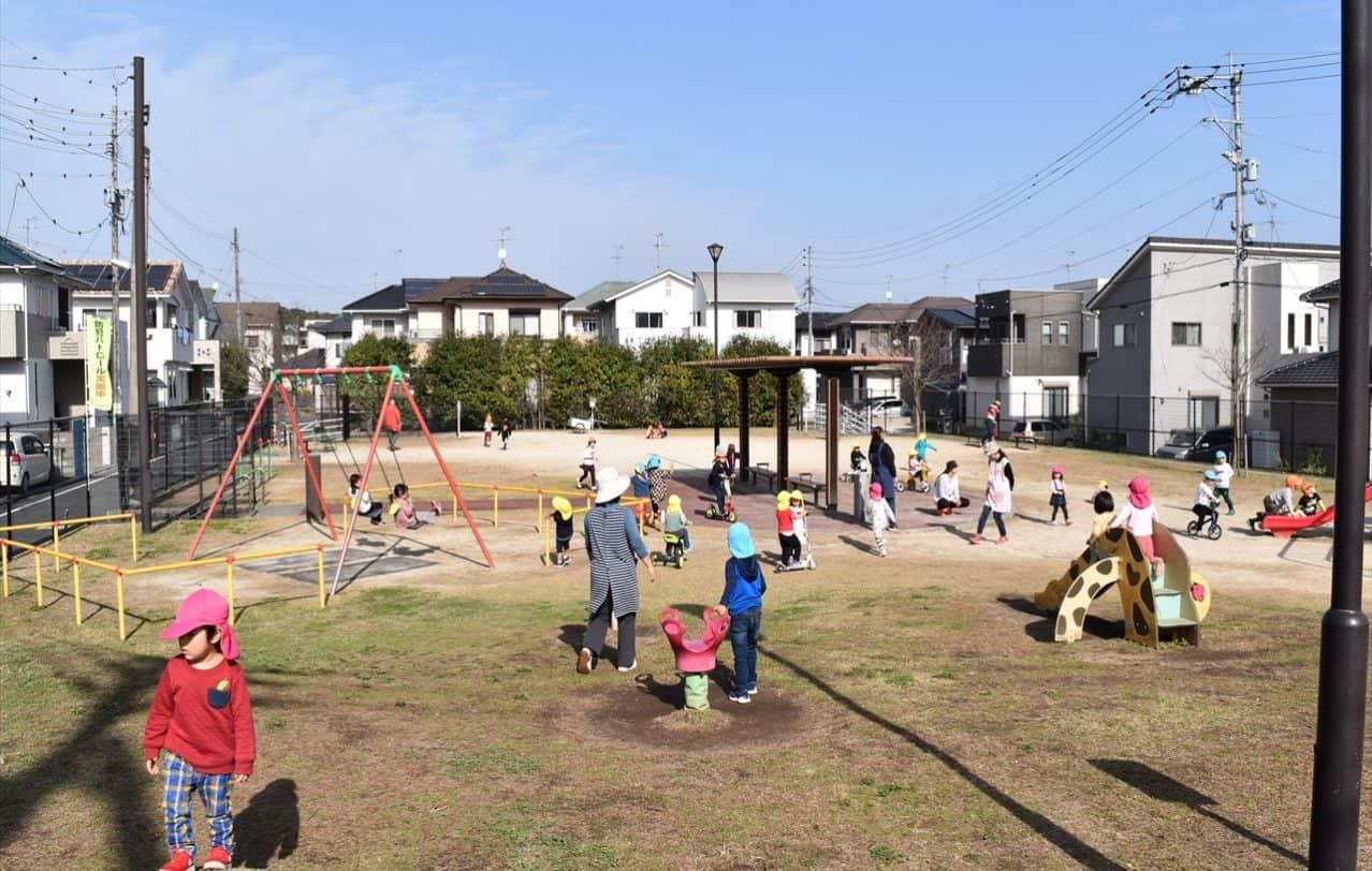 熊本ヒルトップインターナショナルスクール外遊び